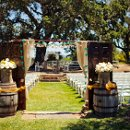 Venue: Santa Margarita Ranch  Caterer: Phil's Catering Service  DJ: Entertainment Now  Hair & Makeup Artist: Loah Hyunh of Apples and Blush