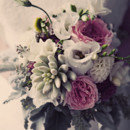 Venue: The Berkeley Church  Floral Designer: Sweetpea's  Cake Topper: Paul Pape Designs  Music: DJ Bingo Bob