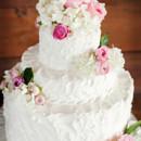 Venue: Thistle Springs Ranch  Floral Designer: Crumps Florist  Caterer: Peterson's BBQ  Cake: Texas Star Bakery  Dress Designer: David's Bridal  Bridesmaid Dresses: David's Bridal  DJ: Party All the Time Productions