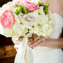 Venue: Thistle Springs Ranch  <br /> Floral Designer: Crumps Florist  <br /> Caterer: Peterson's BBQ  <br /> Cake: Texas Star Bakery  <br /> Dress Designer: David's Bridal  <br /> Bridesmaid Dresses: David's Bridal  <br /> DJ: Party All the Time Productions  <br />