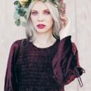 130x130 sq 1417872236267 tiffany egbert mia head crown maroon dress