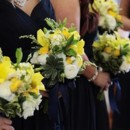 130x130 sq 1417873130871 yellow bridesmaids bouquets