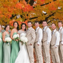 220x220 sq 1451760922340 mr mrs shelley october 25th 2015 bridal party 0011