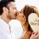 130x130 sq 1448302952561 wedding couple kiss