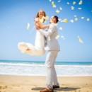 130x130 sq 1448303255150 just married on santa monica beach