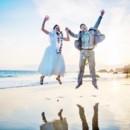 130x130 sq 1448303324040 bride and groom jump shot
