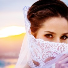 220x220 sq 1448303122502 bride with veil