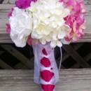 130x130 sq 1365305201223 bouquet pink hydrangea white fushia