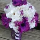 130x130 sq 1365305205653 bouquet purple white4