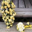 130x130 sq 1366519339013 cascading yellow rose bridal set2