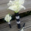 130x130 sq 1367127283884 calla set black wrap with rhinestone bridesmaid