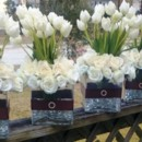 130x130 sq 1367728589691 centerpiece ivory roses tulips3