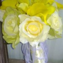 130x130 sq 1373436352217 bouquet yellow rose asiatic lily