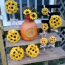 130x130 sq 1385712995464 sunflower decor set boo ber