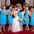 130x130 sq 1416890621544 bride party tina williams daughter pink yellow mal
