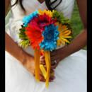 130x130 sq 1416890704009 bride katrina multicolor bridal daisy bouquet