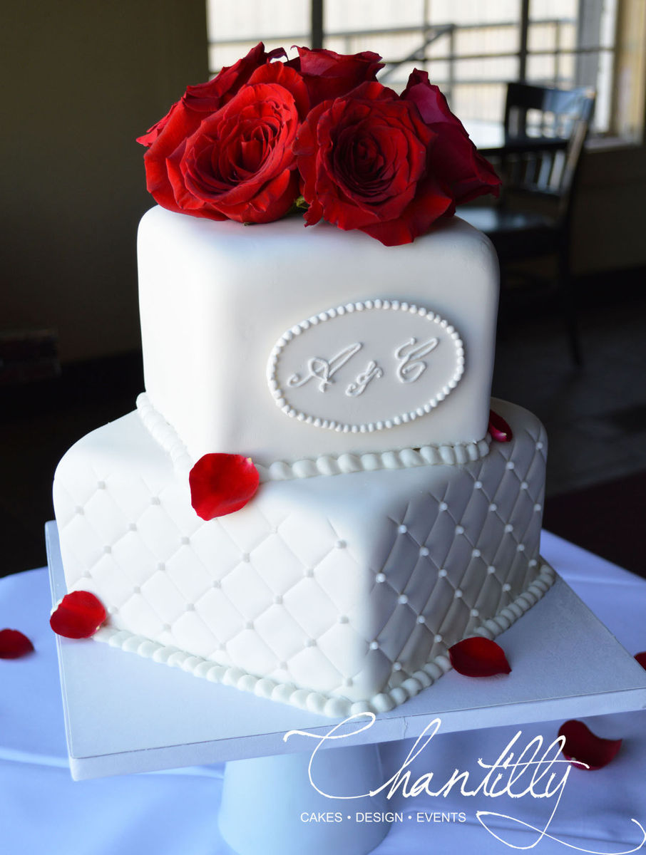Chantilly Wedding Cake El Paso TX WeddingWire