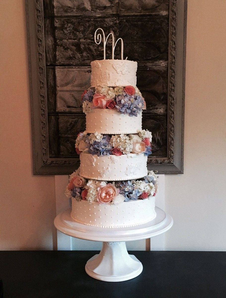the crafty cakery - wedding cake - cumming, ga - weddingwire