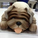 130x130 sq 1355662701419 bulldogcake