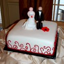 130x130 sq 1355663257816 groomscakewithcouple