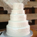 130x130 sq 1403573521181 lace wedding cake