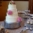 130x130 sq 1403573528398 buttercream wedding cake tcc
