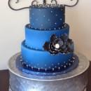 130x130 sq 1421252019223 blue ombre cake