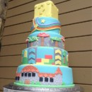 130x130 sq 1424384765635 mario wedding cake