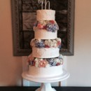 130x130 sq 1442753614200 floral wedding cake 2015