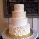 130x130 sq 1442753737819 gold wedding cake