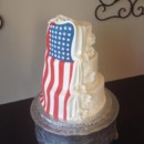 130x130 sq 1442753774213 flag wedding cake