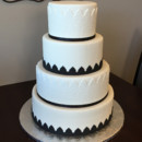 130x130 sq 1442754571974 black and white wedding cake