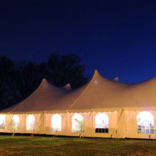 220x220 sq 1447960532466 60x100 tent and marquee at night