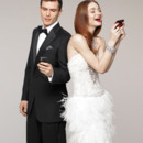 130x130 sq 1375252563773 bride and groom on cell phones