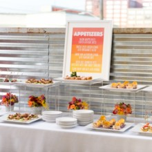 220x220 sq 1424474524440 appetizer buffet