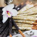 Chocolate Covered Pretzel Rods: Pistachio, Candied Orange Zest, and Espresso Crunch