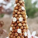 Croquembouche: Cream puffs glazed in a Honey Caramel Sauce