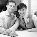 130x130 sq 1434563833575 gay wedding bw 7