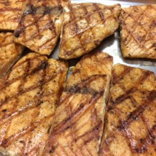 220x220 sq 1504217350714 grilled salmon 2