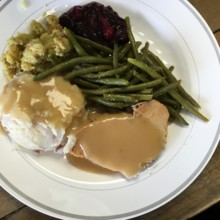 220x220 sq 1504219051349 turkey stuffing mashed green beans
