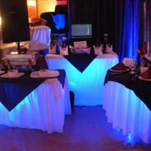220x220 sq 1357793471791 bridalshowboothuplighting