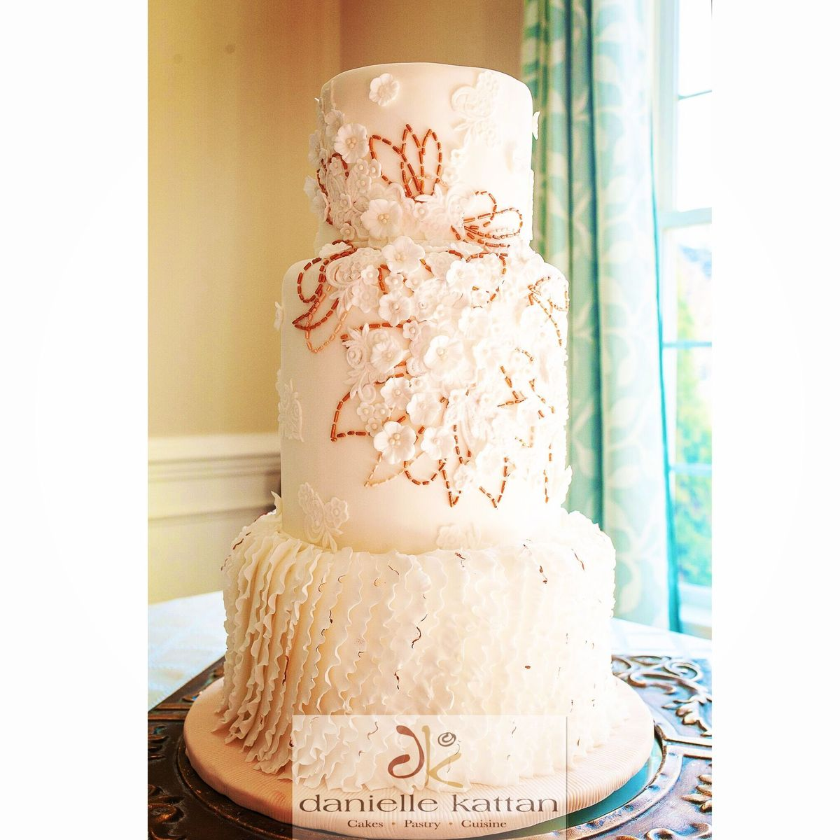Wedding Cakes Near Greensboro, NC. Danielle Kattan Cakes