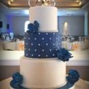 130x130 sq 1415809838623 0navy blue cake