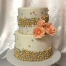 130x130 sq 1415811465225 0pearls and peachy roses