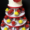 130x130 sq 1415811516863 0vintage wedding red yellow
