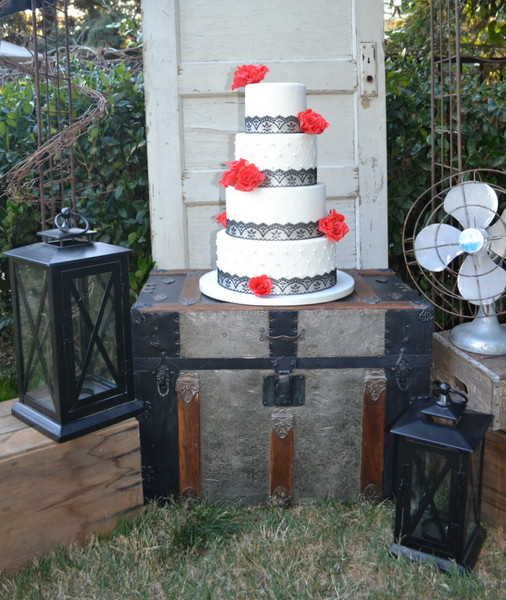 Our Little Cakery Fresno Ca Wedding Cake