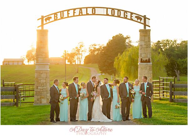 Buffalo Lodge Kingsville Mo Wedding Venue