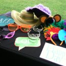 Pure Photo Booth rentals include a full prop closet including a mustache bar :) & is always fully attended by qualified Pure Photo booth staff.