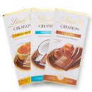 Lindt Creation Bars! Available in Caramel, Coconut, Creme Brulee, and *NEW* Tiramisu!