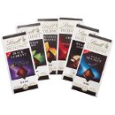 Lindt Exotics Chocolate Bar Collection! Perfect for any occasion! Available in Black Currant, Intense Mint, Intense Orange, Chili, Roasted Almond, and A Touch of Sea Salt!